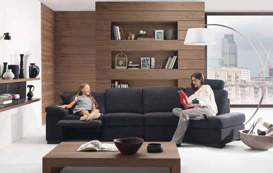 Primer razporeditve pohištva v dnevni sobi
