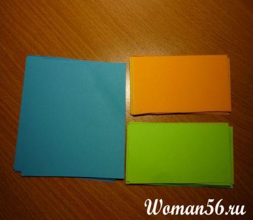 Origami Kusudama lastnimi rokami slike - navodila