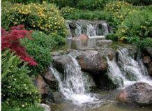Освежите свой сад водопадом!