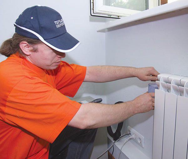 Odprava zračnih žepov v radiatorju