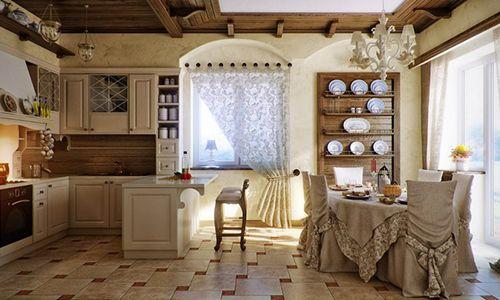 Notranjost v slogu Provence