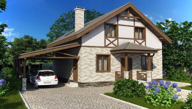 Projekt Hiša 8 za 8 metrov s podstrešja