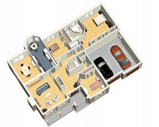 Planul de casa mare