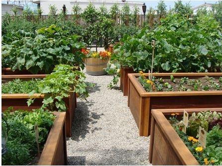 Popolna rešitev za majhen vrt - mobilni vrt