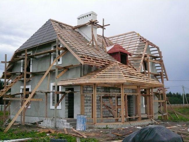 Hiša vgradnje pene blokov