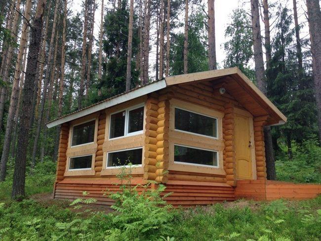 Poletna hiša iz hlodov