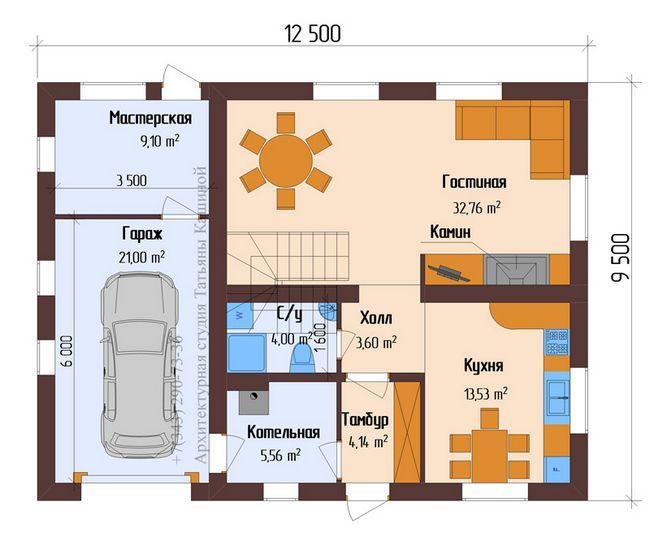 stavba načrt