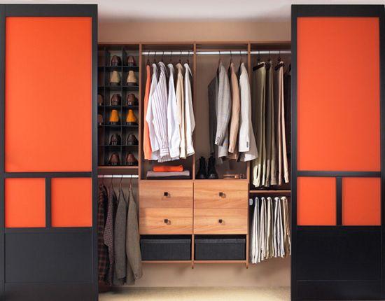 Drsna vrata v garderobi
