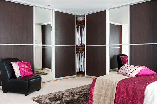 Lesena drsna vrata za omare
