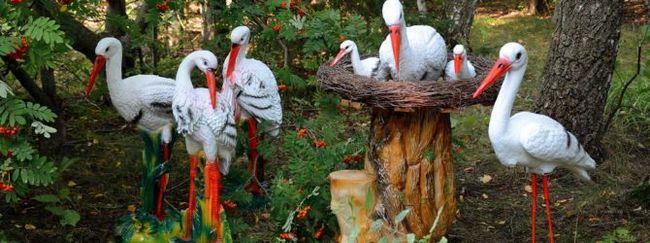 Садовые аксессуары и скульптуры