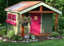 Vrtne hiške - 12 funkcionalne ideje