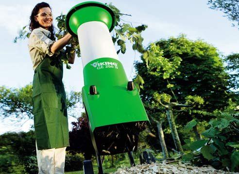 Садовые измельчители - современное решение