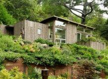 Vrtna hiša na hribu