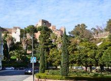 Сады и парки испании парк в малаге