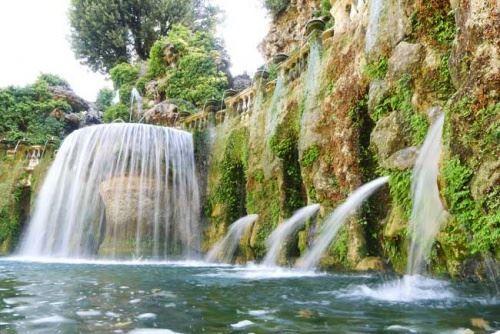Vrt vile d & amp; rsquo-Este, ribniki in vodnjaki