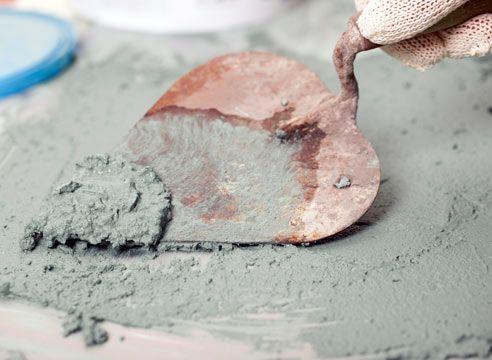 Ometi na osnovi cementa in mavca