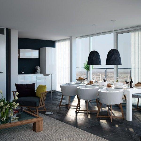 moderno zasnovani apartmaji