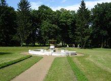 Старинный парк в селе самчики