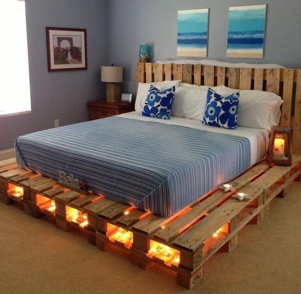 žareče postelja