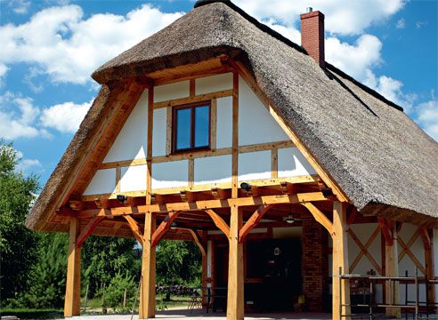 Stene hiše: okolju prijaznih gradbenih materialov