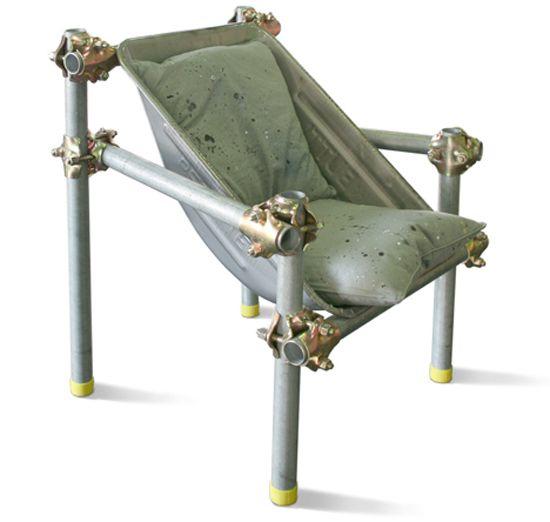 Primer sedež v techno stilu