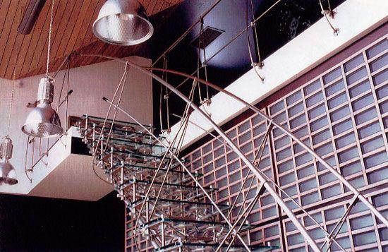 Uporabnosti - glavna značilnost tehno slogu v notranjosti
