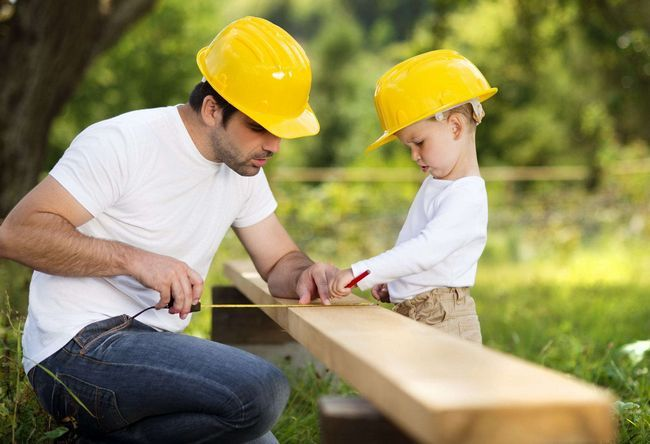 Okvir proces gradnja hiše