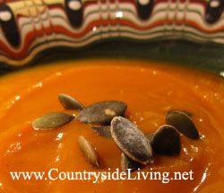 Суп из тыквы (тыквенный суп)