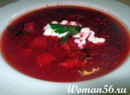 Hot polévka z červené řepy - recept