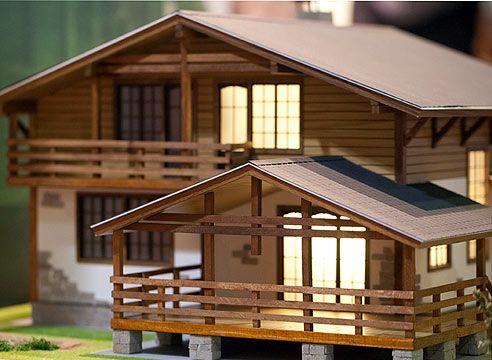 model hiše