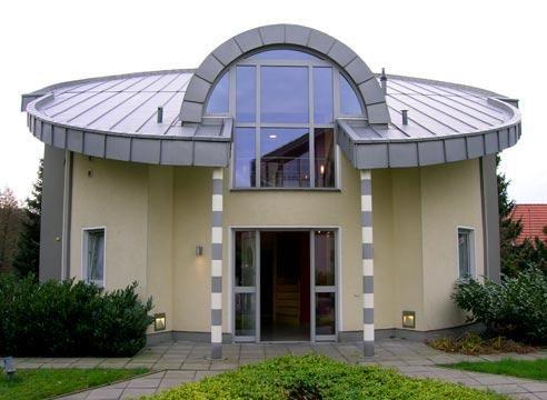 Art Nouveau hiša, vhod območje