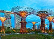 Edinstvena futuristična vrt v Singapurju