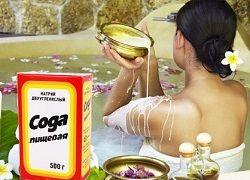 Ванна с содой и травы для похудения