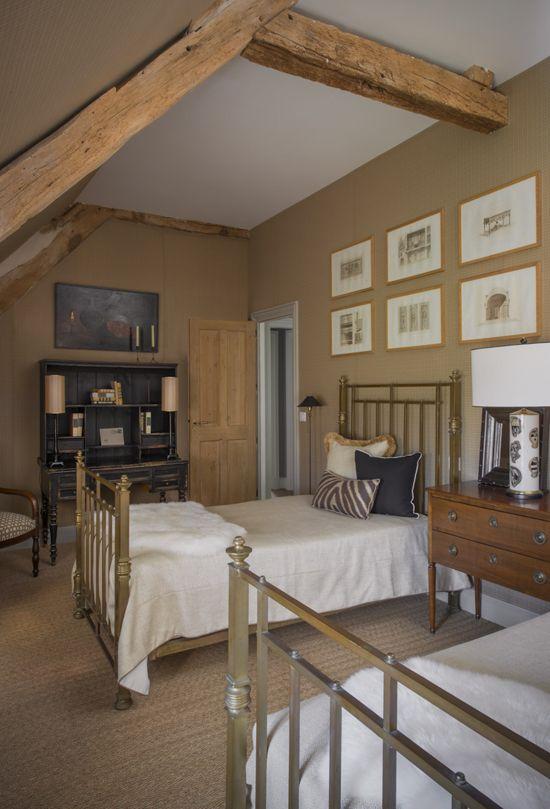 Druga spalnica v mansardi