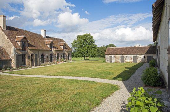 Zunanjost doma v Franciji