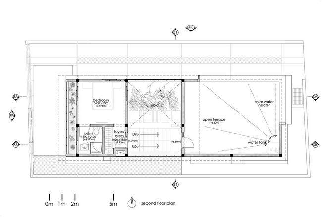 čudovito hišo z notranjim atriumom29
