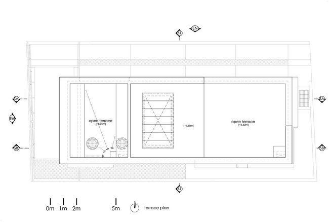 čudovito hišo z notranjim atriumom30