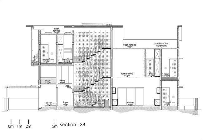 čudovito hišo z notranjim atriumom32