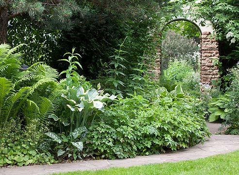 Vhod območje na vrt