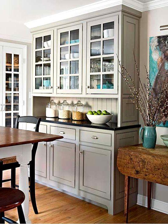 Vgrajen v kuhinji: fotografija in oblikovanje primeri