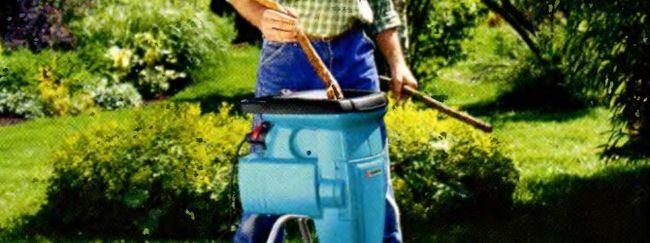 Зачем нужен шреддер в саду?