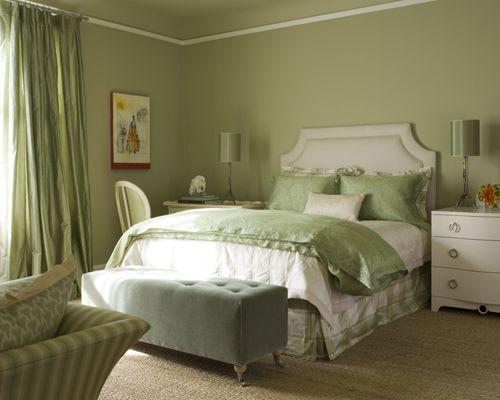 Zelena soba: oblikovne značilnosti