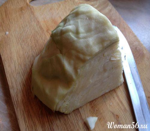 Ocvrti zelje recept