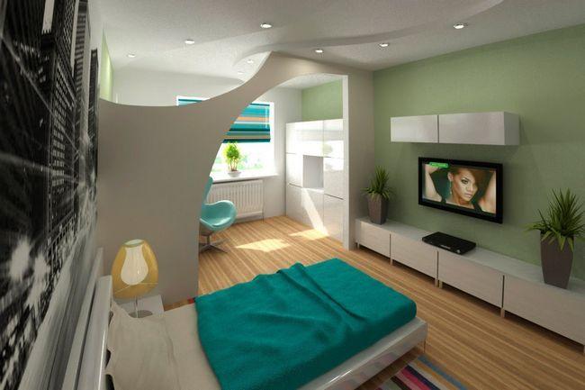 Zonski soba z dnevno sobo